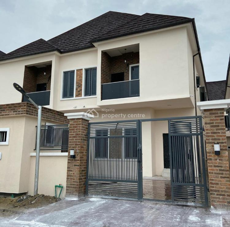 Exquisitely Finished New 4 Bedroom Semi-detached Duplex with Bq, 2nd Toll Gate, Lekki, Lagos, Semi-detached Duplex for Sale