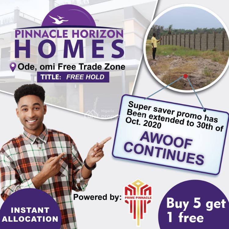 Promo. Dry Fenced Land  in an Estate, Pinnacle Horizon Estate, Ode-omi, Folu Ise, Ibeju Lekki, Lagos, Mixed-use Land for Sale
