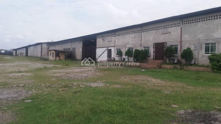2 Large Warehouses on 56 Plots, Trans Amadi, Port Harcourt, Rivers, Warehouse for Sale