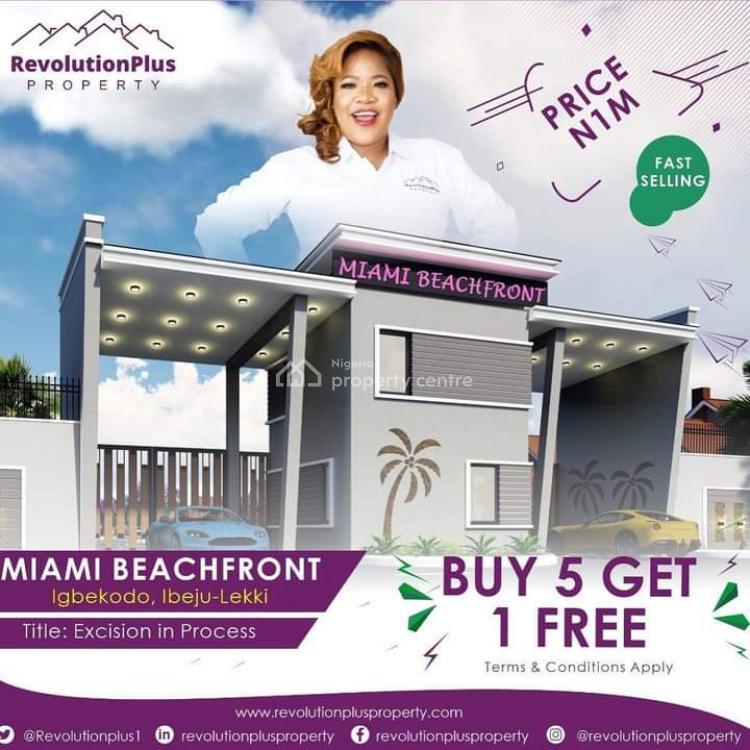 Land, Miami Beachfront Estate, Along Dangote Refinery Road, Ogogoro, Ibeju Lekki, Lagos, Mixed-use Land for Sale