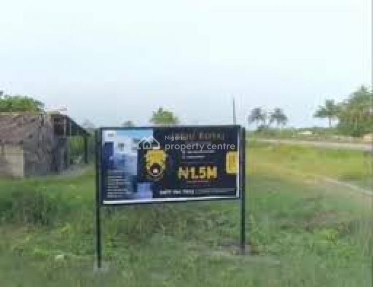 Affordable Land Beside The Express Way, Ibeju Royal Court Yard Ibeju Agbe Town, Lekki Epe Express Way, Ibeju, Lagos, Residential Land for Sale