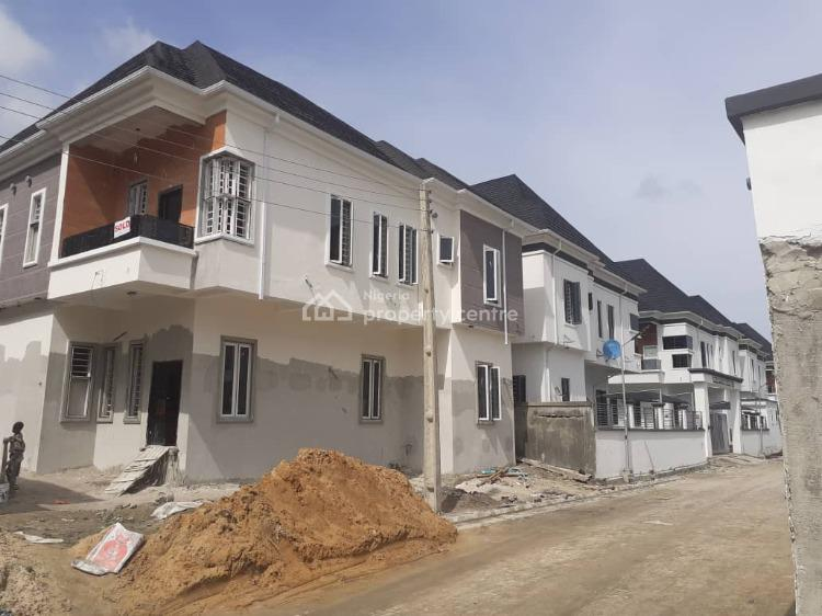 a Brand New 4  Bedroom Detached Duplex + Laundry Room (negotiable), Orchid Road, Lekki, Lagos, Detached Duplex for Sale