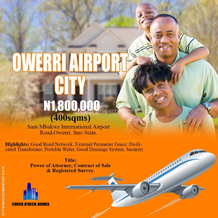 Buy and Build Estate., Sam Mbakwe International Airport Road, Owerri, Imo, Land for Sale