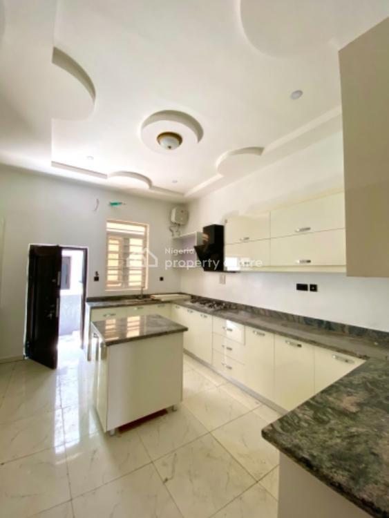Newly Built Four Bedroom Semi Detached with Bq, Lafiaji, Lekki, Lagos, Semi-detached Duplex for Sale