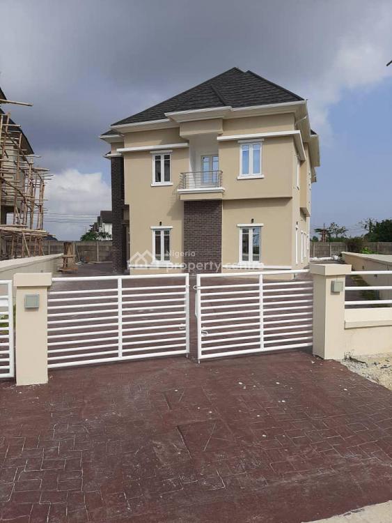 Five Bedrooms Duplex with One Room Bq., Along Abraham Adesanya, Ogombo Road, Lekki, Lagos, House for Sale