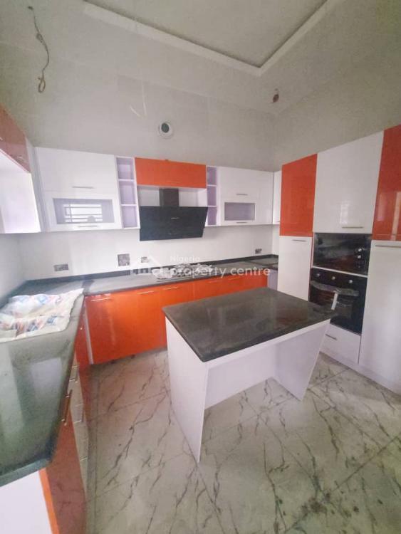 Lovely 4 Bedroom Fully Detached Duplex with Bq, Chevron, Lekki, Lagos, Detached Duplex for Sale