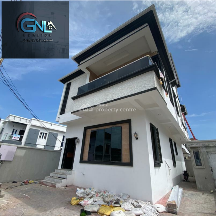 Nicely Built, 5 Bedrooms Fully-detached House with a Penthouse, Lekki, Lagos, Detached Duplex for Sale