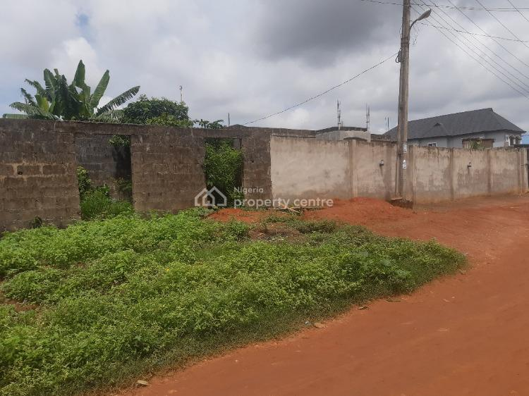 Uncompleted Setback Bungalow with 4 Shops at The Front, Idera Estate Amule, Ipaja, Lagos, Detached Bungalow for Sale