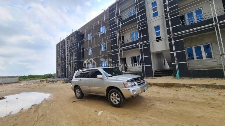 Brand New 4 Bedroom Terrace, Behind Shoprite Novare Mall, Sangotedo, Ajah, Lagos, Terraced Duplex for Sale