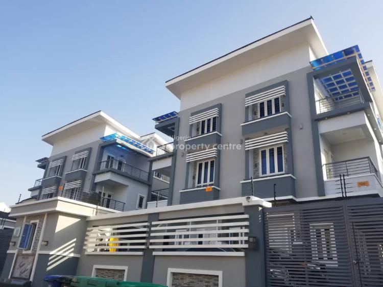 Luxury Serviced 4 Bedroom Terraced Duplex, Ogunlana Street, Allen, Ikeja, Lagos, Terraced Duplex for Sale