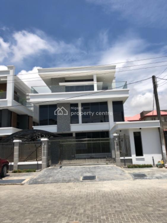 Luxury 5 Bedroom Fully Detached Automated Mansion with Exquisite Designs, Lekki Phase 1, Lekki, Lagos, Detached Duplex for Sale