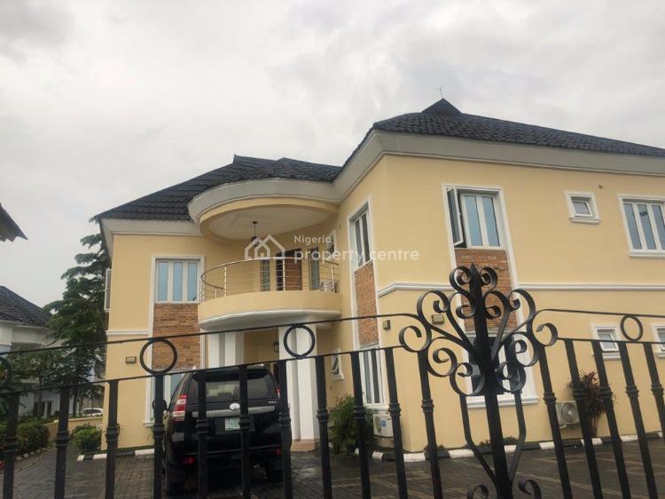 Massive 5 Bedrooms Duplex with 2 Rooms Guest Chalet, Royal Gardens Estate, Ajah, Lagos, Detached Duplex for Rent