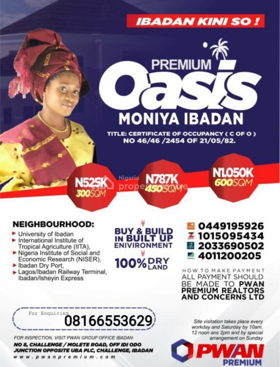 Oasis Premium Estate, Moniya, Ibadan, Oyo, Mixed-use Land for Sale