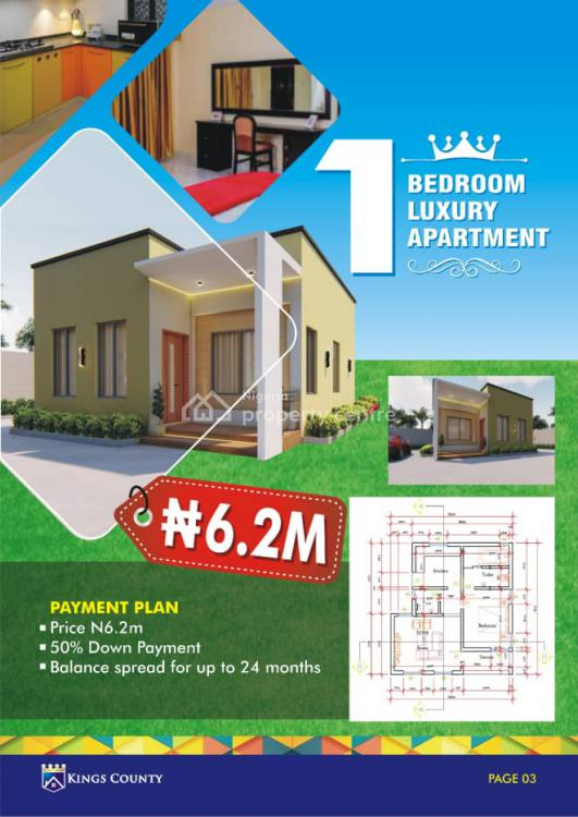 Offplan Apartment with Alluring Aesthetics, Oke Mosan,after Governors Office, Abeokuta South, Ogun, Block of Flats for Sale