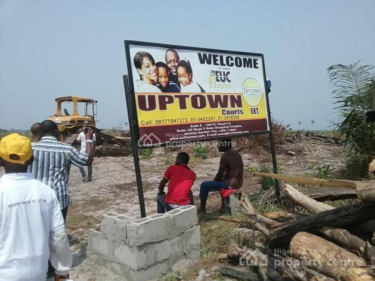 Residential Land with C of O, Uptown Court Extension Along Lekki Free Trade Zone, Oribanwa, Ibeju Lekki, Lagos, Residential Land for Sale