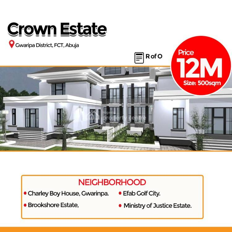 Dry Land, Crown Estate, Gwarinpa, Abuja, Residential Land for Sale