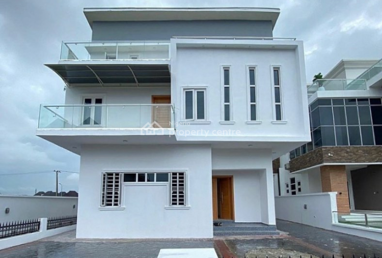 Luxury 5 Bedrooms Detached Duplex, Arcadia Estate, Osapa London, Osapa, Lekki, Lagos, Detached Duplex for Sale