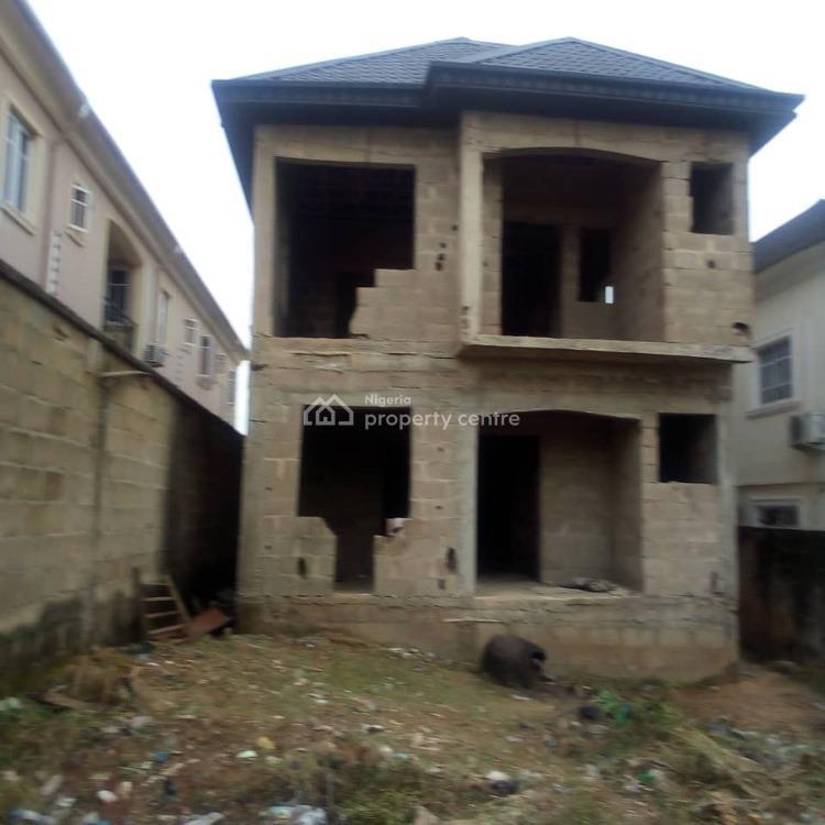 Incomplete 4 (nos) 3 Bedroom Flat, K Farm Estate, Obawole, Ogba, Ikeja, Lagos, Block of Flats for Sale