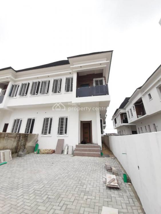 4 Bedrooms and 1 Bq Semi-detached Duplex, By Northwest Filling Station, Before Vgc, Lekki Phase 2, Lekki, Lagos, Semi-detached Duplex for Sale