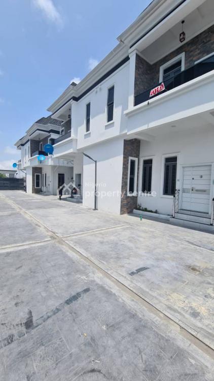 Exquisitely Built 4 Bedroom Semi Detached Duplex., Chevron Second Tollgate, Near Oral Estate, Angelcourt, Lekki Phase 1, Lekki, Lagos, Semi-detached Duplex for Sale