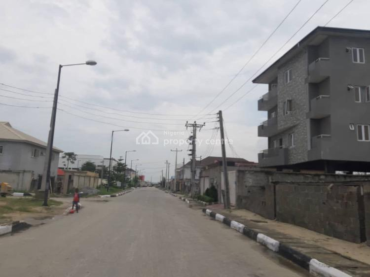 Corner Piece 1500sqm Land Fenced and Gated., Atlantic View Estate, Opposite Chevron, Idado, Lekki, Lagos, Residential Land for Sale