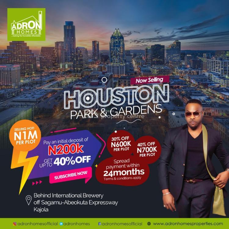 Adron Homes Houston Park and Gardens., Off Sagamu-abeokuta Express Road, Kajola., Ode Lemo, Sagamu, Ogun, Mixed-use Land for Sale