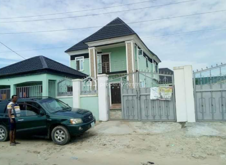 Luxury 4 Bedroom Fully Detached with Two Extral Rooms and a Shop., Bogije, Ibeju Lekki, Lagos, Detached Duplex for Sale