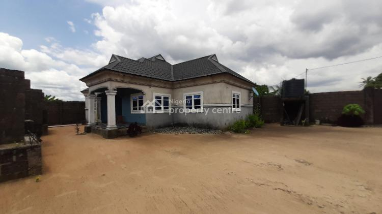 Nicely Finished and Well Located 3 Bedroom Detached Bungalow., Aker Road, Off Iwofe Road., Rumolumeni, Port Harcourt, Rivers, Detached Bungalow for Sale