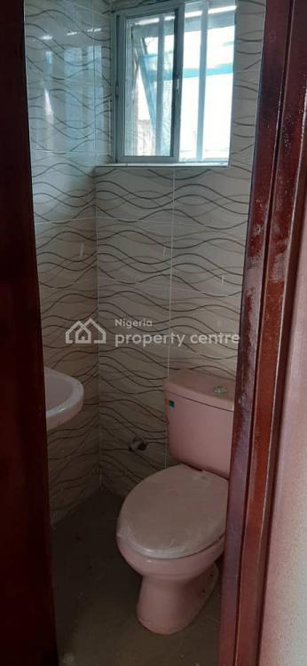 Clean 2 Bedroom Flat Upstairs, Gated Estate, Sangotedo, Ajah, Lagos, Flat for Rent