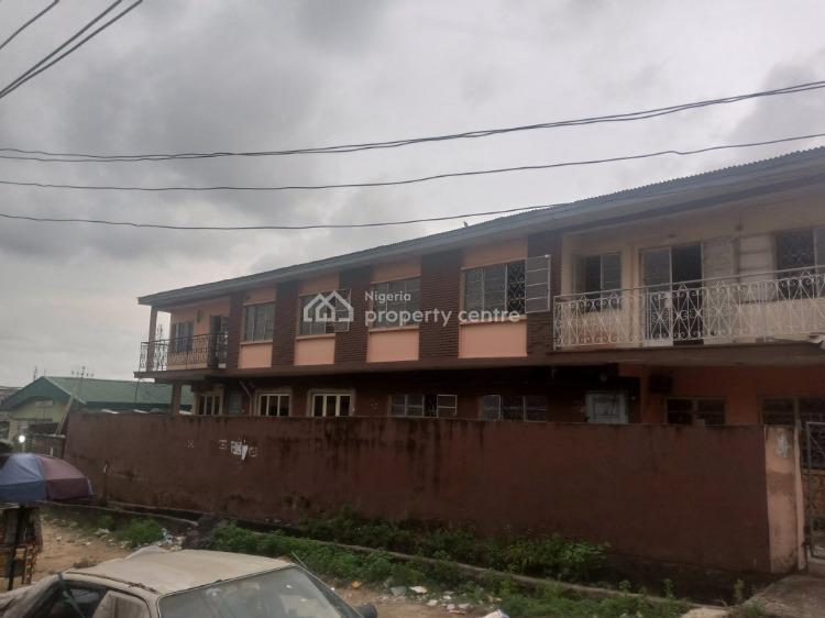 Block of 4 Flat with Rooms Behind, Tipper Garage Side, Ketu, Lagos, Block of Flats for Sale