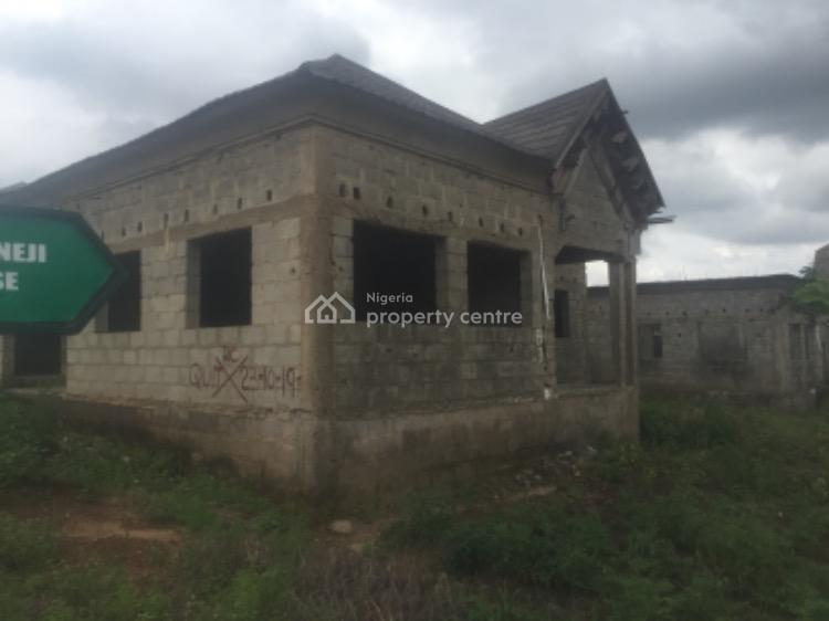 Carcas of Fully Detacched 3 Bedroom Bungalow, Goshen Eatate, Lugbe District, Abuja, Detached Bungalow for Sale