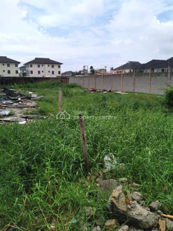 Fenced 900.504 Square Meters Land, The Rock Drive, Off Durosimi Etti, Lekki Phase1,  Block 24 Plot 25a, Lekki Phase 1, Lekki, Lagos, Residential Land for Sale