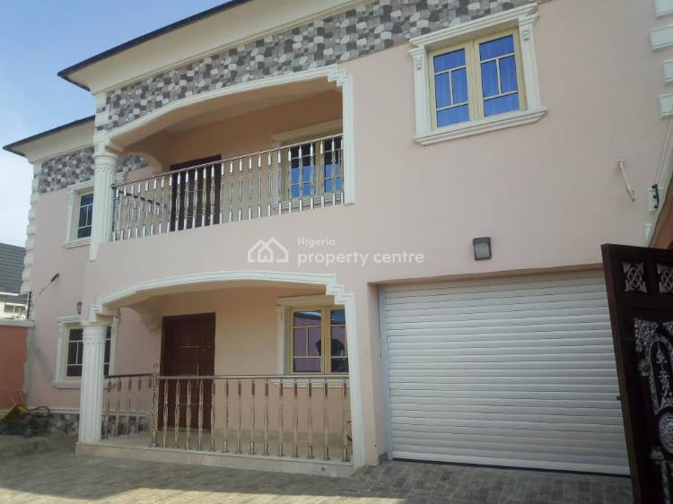 Luxury 4 Bedrooms Fully Detached, University View Estate, Lbs, Olokonla, Ajah, Lagos, House for Rent
