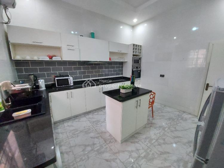 Fully Furnished & Exquisite Four (4) Bedroom Semi-detached House, Chevron, Lekki, Lagos, Semi-detached Duplex Short Let