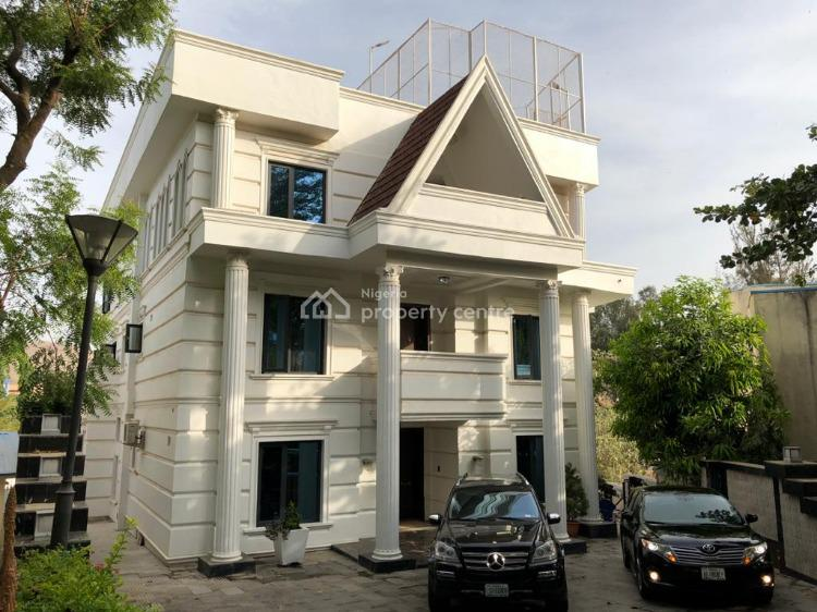 9 Bedroom Bullet Proof Mansion, Off Danube Street, Maitama District, Abuja, House for Sale