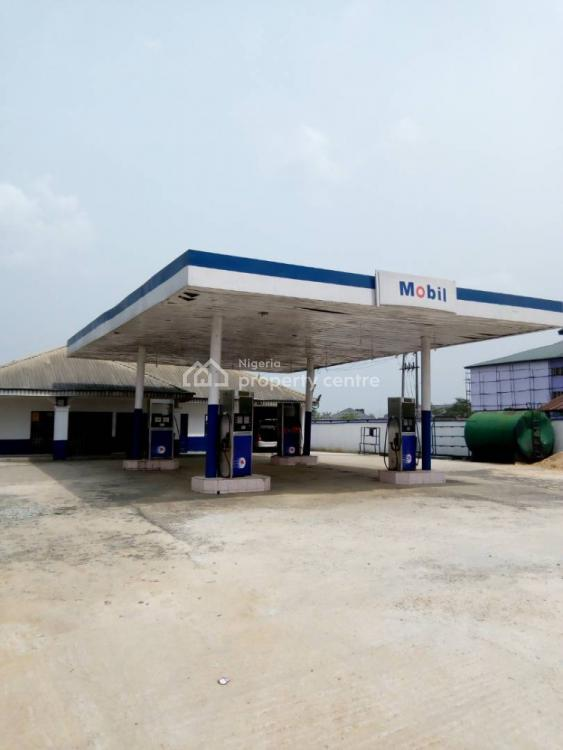 Well Located and Fully Operational Filling Station, East West Road, Obio-akpor, Rivers, Filling Station for Sale