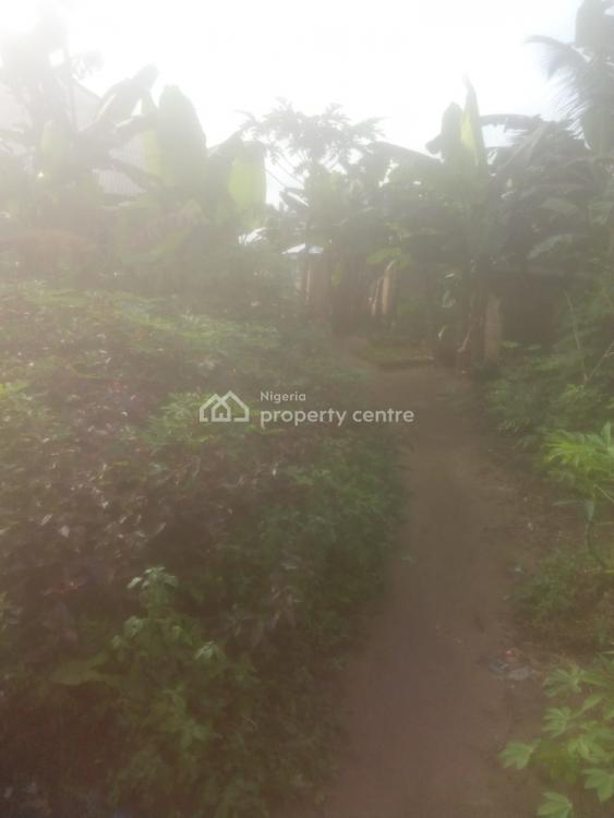 Land, By The Abak Road Flyover Close to The Olympics Seat Out Along Stadium, Uyo, Akwa Ibom, Land for Sale