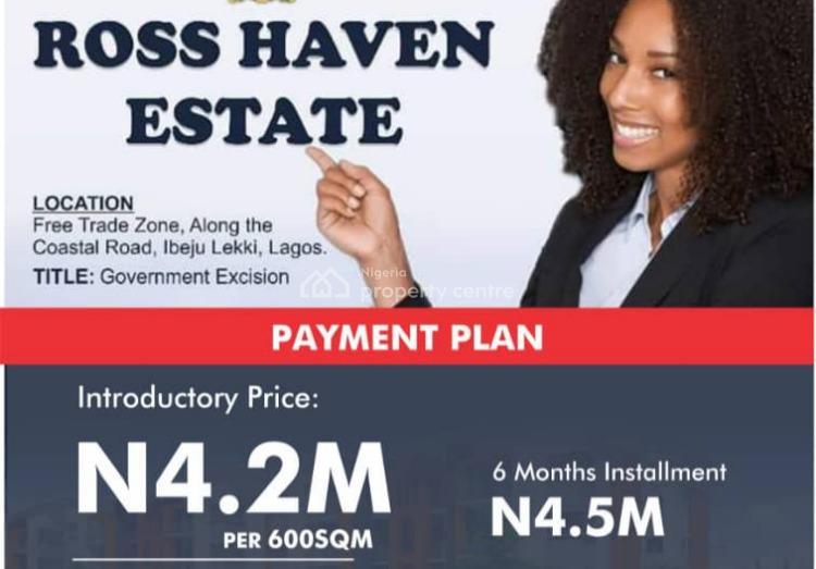Excision Estate Land, Lekki Free Trade Zone, Lekki, Lagos, Residential Land for Sale