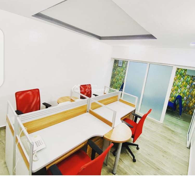 4 Man Workspace, 26 Akin Leigh Street, Lekki Phase 1, Lekki, Lagos, Office Space Short Let