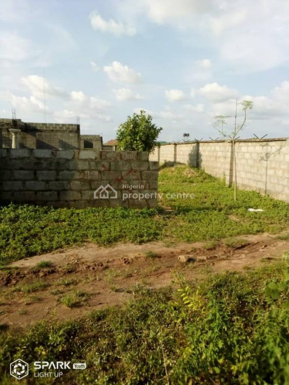 Carcass 4 Bedroom Bungalow with Bq, Along Gwas Secreteriate Before Army Barracks, Gwagwalada, Abuja, Detached Bungalow for Sale