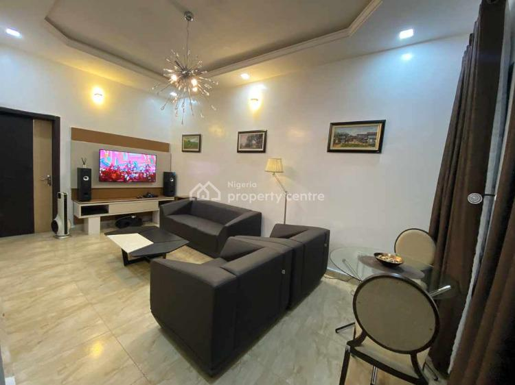 Luxury 3 Bedroom Terrace, Chevron, Lafiaji, Lekki, Lagos, Terraced Duplex Short Let