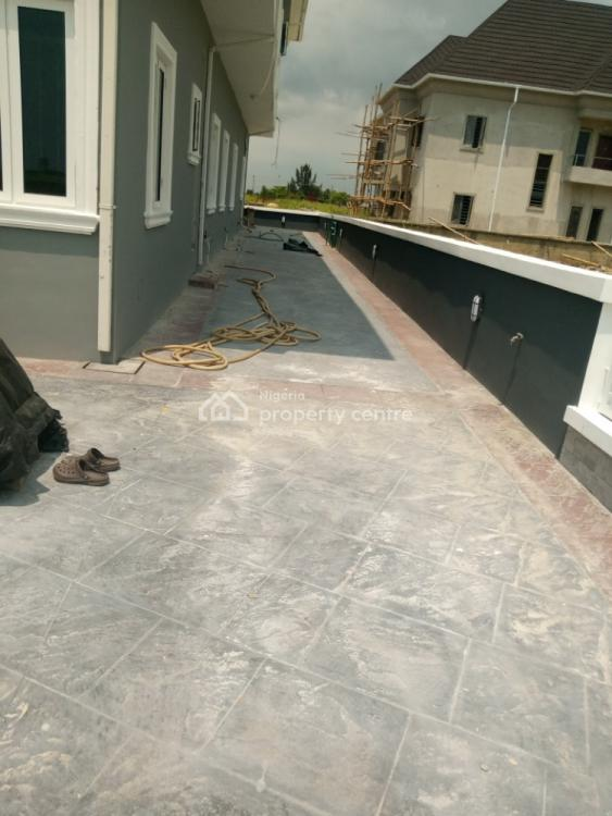 Most Powerful Gigantic Luxury 4 Bedrooms with a Room Bq, Adjacent New Shoprite, Sangotedo, Ajah, Lagos, Semi-detached Duplex for Rent
