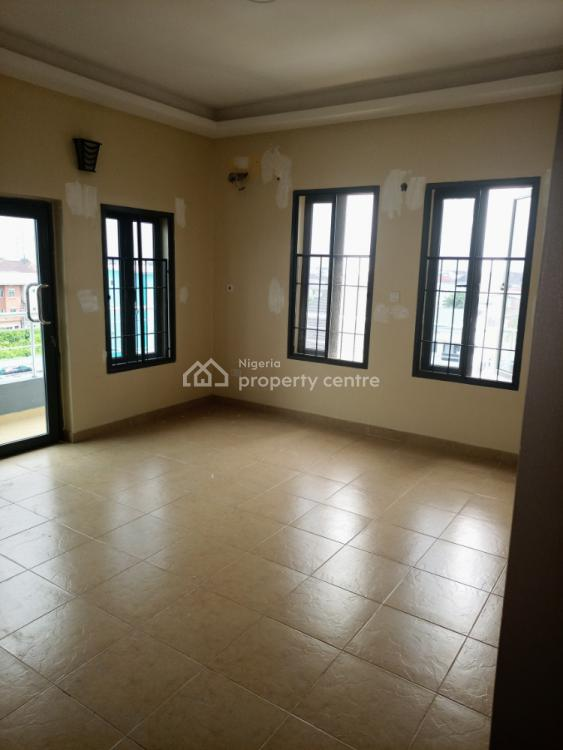 Service 3 Bedrooms Flat with Bq and Elevator 24 Hours Electricity Supply, Oral Estate Via Chevron, Lekki, Lagos, Flat for Rent