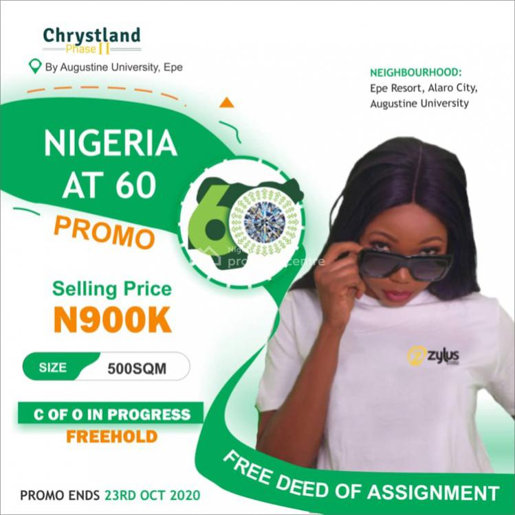 Chrysland Phase 2, By Augustine University, Epe, Lagos, Residential Land for Sale