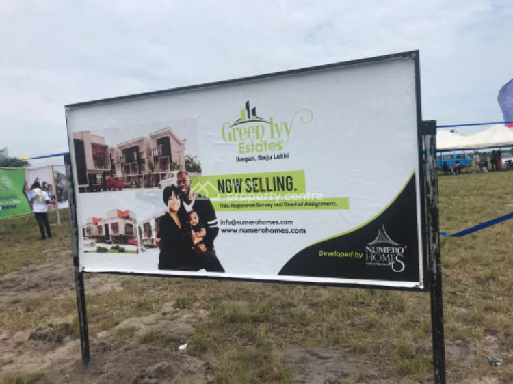 Plots of Land in an Estate, Close to Lacampagne Tropicana., Ikegun, Ibeju Lekki, Lagos, Residential Land for Sale