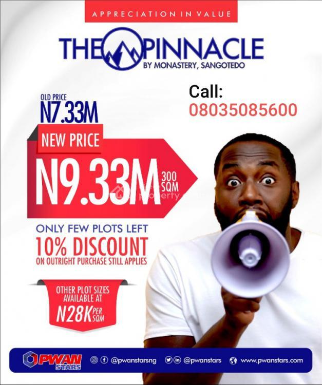 The Pinnacle Estate, Off Monastery Road, Sangotedo, Ajah, Lagos, Residential Land for Sale