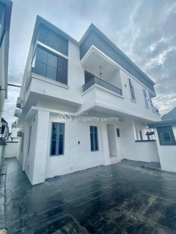 4 Bedroom Semi Detached Duplex with Fitted Acs and Tvs, Chevron, Lekki, Lagos, Semi-detached Duplex for Sale