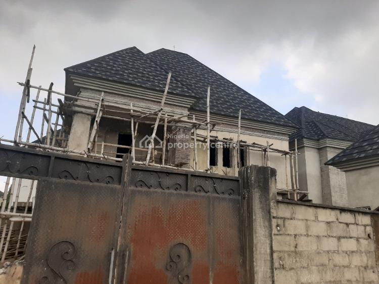 5 Bedroom Duplex with Bq Carcass, Peninsula Garden Estate, Sangotedo, Ajah, Lagos, Detached Duplex for Sale