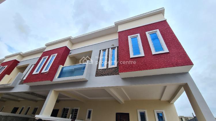 Luxury 4 Bedroom Terrace Duplex with 18 Months Flexible Payment, Opposite Mega Chicken Between Chevron and Victoria Gardens City, Ikota, Lekki, Lagos, Terraced Duplex for Sale