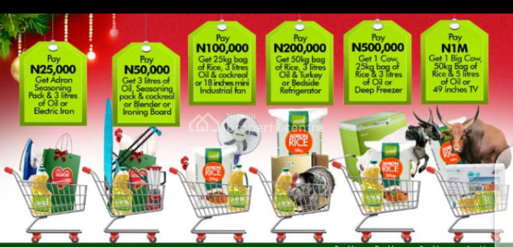 Adron Homes Estate with Installment Payment, Imperial Park and Gardens Estate Phase 1, G.r.a Quarters, Sagamu, Ogun, Mixed-use Land for Sale